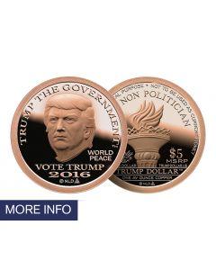 Copper Trump Dollar (1 Week Ship Time)