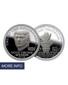 Silver Trump Dollar – Type II (14 Day Ship Time)
