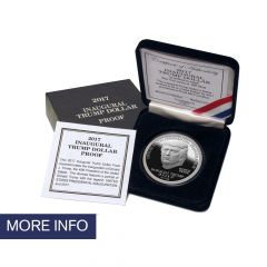 2017 Trump Dollar Silver Proof