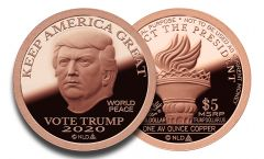 2020 Copper Trump Dollar