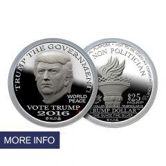 2016 Silver Trump Dollar – Type II