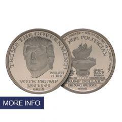 2016 Silver Trump Dollar – Type I