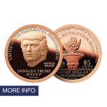 2017 Copper Inaugural Trump Dollar