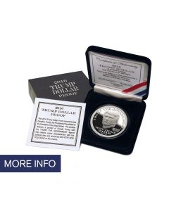 2016 Proof Silver Trump Dollar