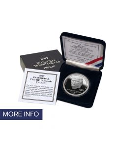 2017 Proof Silver Inaugural Trump Dollar