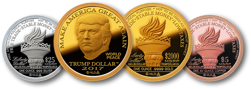 2017 Make America Great Again Trump Dollar