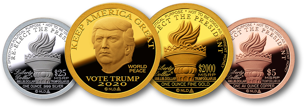The 2020 Keep America Great Trump Dollar